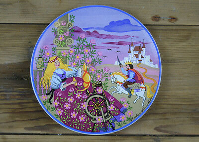 Collectable Poole Pottery 149 Sleeping Beauty Plate