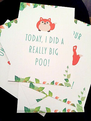 Baby Milestone Cards - Funny  ON SALE!!! Shower Christening Gift Newborn Unisex