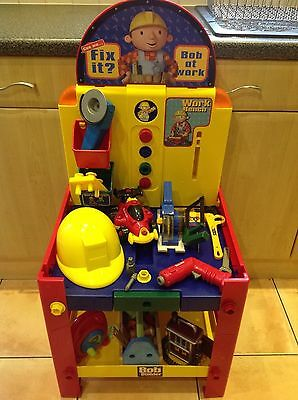 Bob the Builder work bench with extras