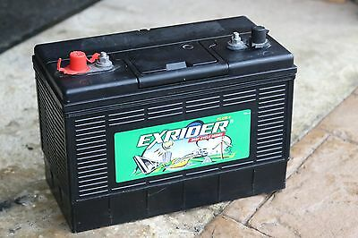 Exrider Plus 12v 100Ah Deep Cycle Series Leisure Battery