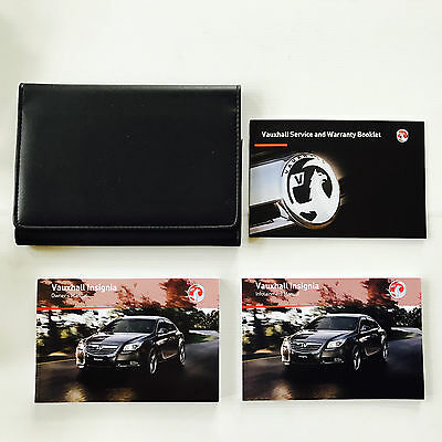 VAUXHALL INSIGNIA & SPORTS TOURER - SERVICE BOOK + HANDBOOK PACK 2008 To 2013