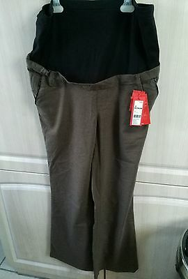 Pantalon grossesse esprit noppies 44 marron Chic