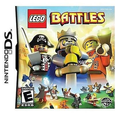 Lego Battles Nintendo DS Game Brand New and Sealed