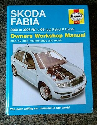 Haynes Skoda Fabia Petrol Turbo Diesel 2006 vRS 3/4 Cyl Owners Workshop Manual