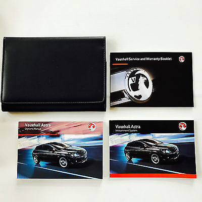 Vauxhall Astra H - Service Book New Blank Original + Handbook Pack 2005 To 2011