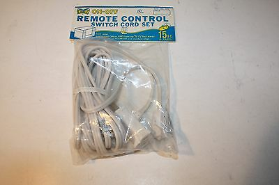 Vintage Eagle Remote Control Switch Cord Set New Old Stock