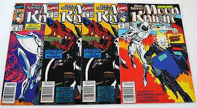Moon Knight 4 Issue Lot.......uncirculated!