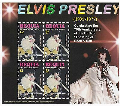 Elvis Presley - Briefmarken - Block