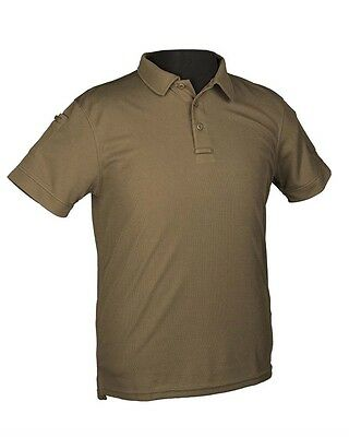 Tactical Quickdry Poloshirt oliv, Camping, Outdoor, Military, Sport   -NEU-