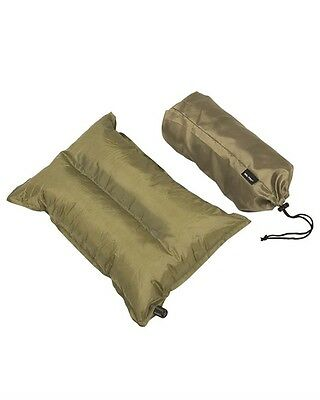 Kissen selfinflatable oliv, selbstaufblasend, Military, Camping, Outdoor   -NEU-