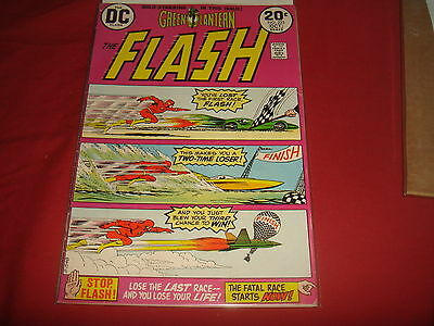 THE FLASH #223  Barry Allen Bronze Age  DC Comics 1973  FN-