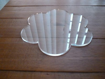 10 Inch Petal Cake Plate Acrylic Cake Decorating Board 10""