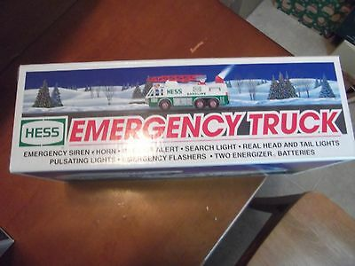 1996 Hess Emergency Truck Limited edition new in box