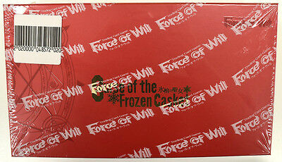 Force of Will Curse of the Frozen Casket Factory Sealed English Booster Box