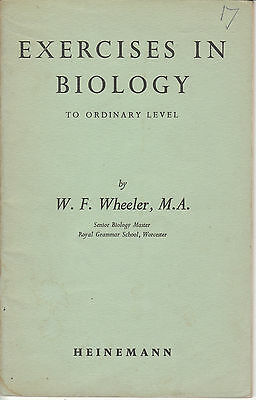 Exercises in Biology to Ordinary Level 1959