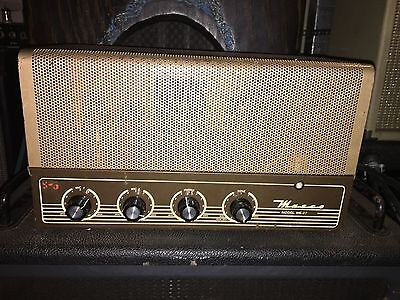 Masco Me-27 Vintage Tube Guitar Amplifier Amp Head Serviced & Ready Video