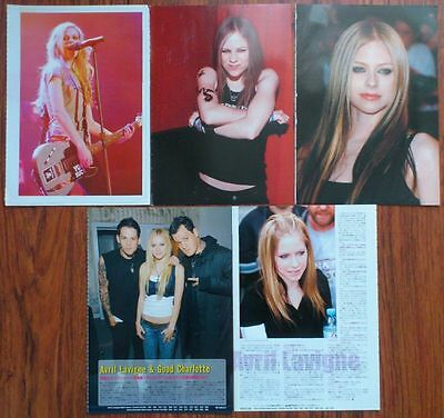 AVRIL LAVIGNE Posters A4, Clippings