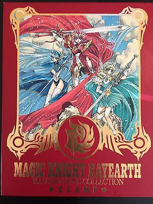 CLAMP Magic Knight Rayearth ILLUSTRATION COLLECTION artbook