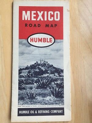 Old Mexico Road Map