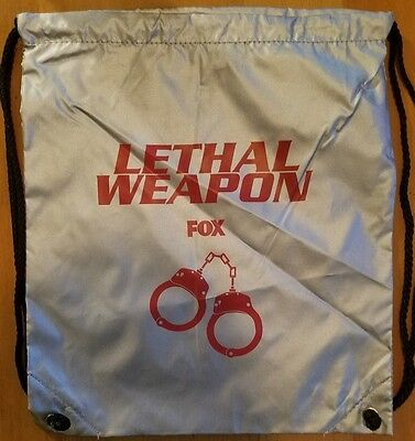Lethal Weapon Drawstring Backpack Promo Fox