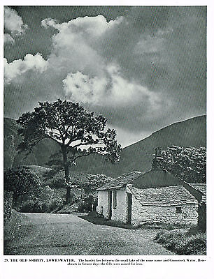 The Old Smithy, Loweswater, Lake District - Vintage 1950s Print #282926