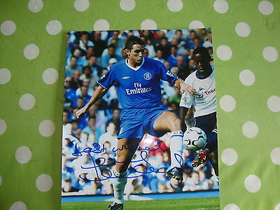 Frank Lampard Chelsea Signed Photo