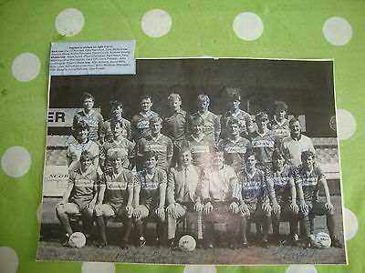 Middlesbrough Multi Signed Team Picture c1985