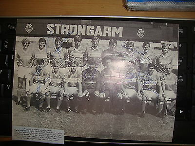 Middlesbrough  Multi Signed Team Picture c1980's