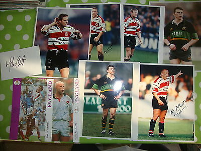 Collection of Rugby Union Autographs