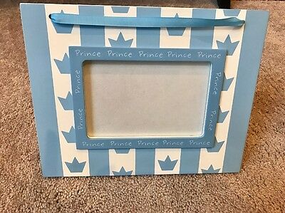 Baby Boy 5x7 Prince Picture Frame