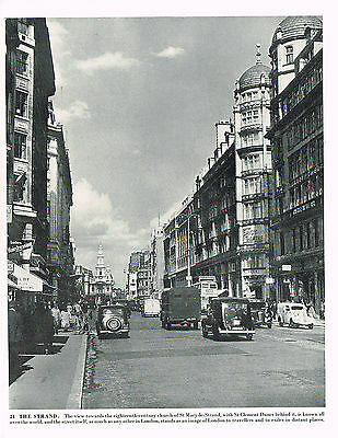 The Strand Vintage 1950's Photographic Print London #375658