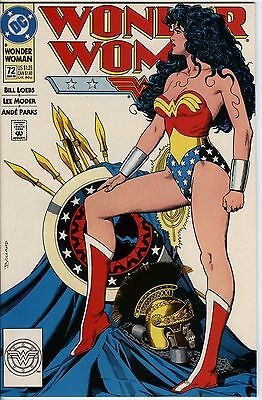 Wonder Woman Issue 72 From 1993 Classic Cover and Nice Lee Moder Art