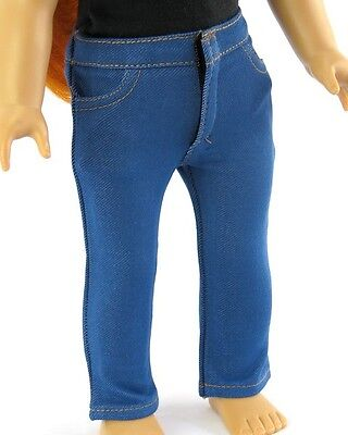 "18"" AFW Doll Clothes  Blue Skinny Jeans fits American Girl"
