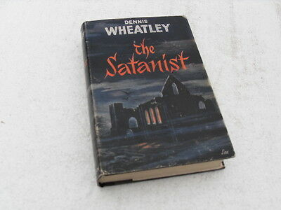 """""""THE SATANIST"""" HB book with DJ by Dennis Wheatley 2nd edition 1961."""