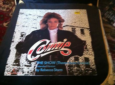 """Rebecca Storm The Show Theme From Connie  12"""" Vinyl Single"""