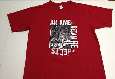 Rare Vintage All American Rejects Concert Red Drowning T-Shirt Adult Size Small