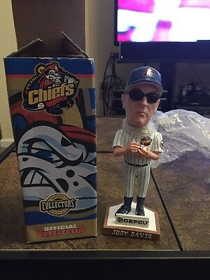 Jody Davis Peoria Chiefs Official Bobblehead 2007 Collectors Series