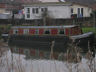 42ft Cruiser Stern Steel Narrow Boat