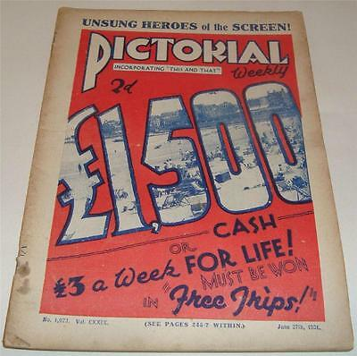 PICTORIAL WEEKLY MAGAZINE June 27th 1931       64