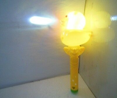 18 Funny Flashing Light Up Duck Sticks with Music Reflecting Image