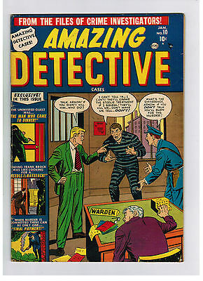 AMAZING DETECTIVE COMIC No. 10 from 1952