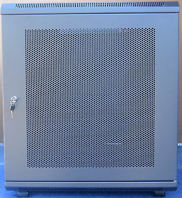 """9U 19"""" Rackmount Server Rack / Cabinet w/Casters for HP, Dell Servers - 35"""" deep"""