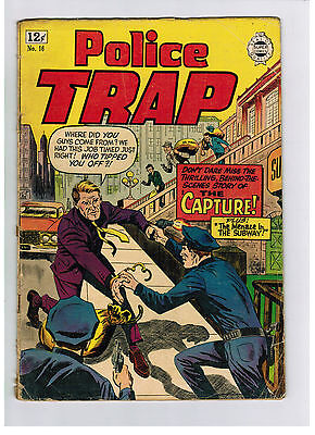 POLICE TRAP COMIC No. 16 from 1964 reprint