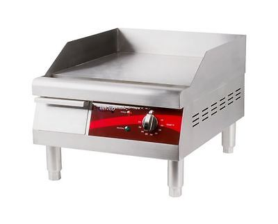 """16"""" Electric Commercial Kitchen Deli Countertop Flat Grill Griddle"""