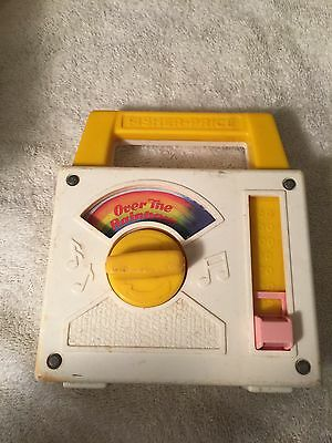 Fisher-Price Over The Rainbow Wind Up Music Box
