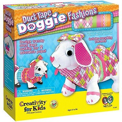 Creativity For Kids Duct Tape Doggie Fashions DOG