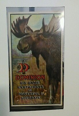RARE EARLY 1900's DOMINION CARTRIDGE MOOSE COVER IMPERIAL HOTEL DEALER ENVELOPE