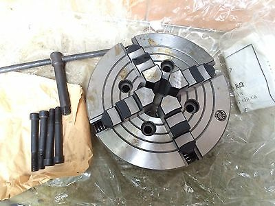 4 Jaw Independent Metal Lathe Chuck - 200mm