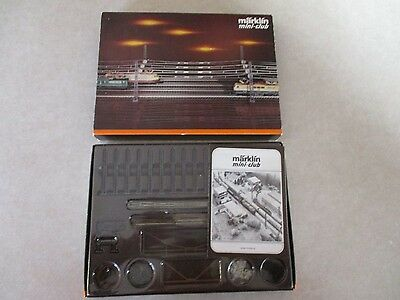 Marklin Mini-Club 8199 overhead Catenary Set for T1+T2+T3 expansion sets - *NOS*