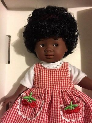 COROLLE Doll Original boxed Ethnic Black African American Relaxed Afro Curls